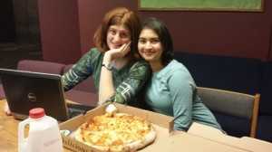 Band Notes and pizza – the perfect way to spend Spring Break!